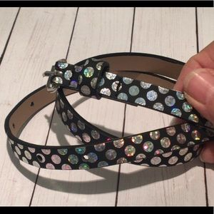 Target Accessories - Holographic Circles on Black Belt